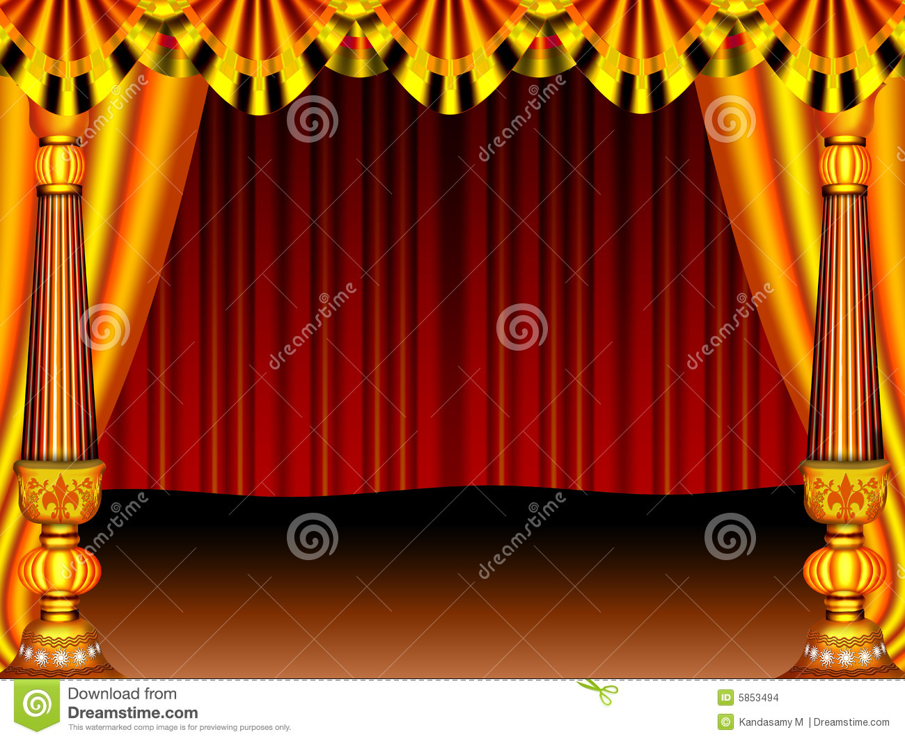 Stage stock images image 5853494