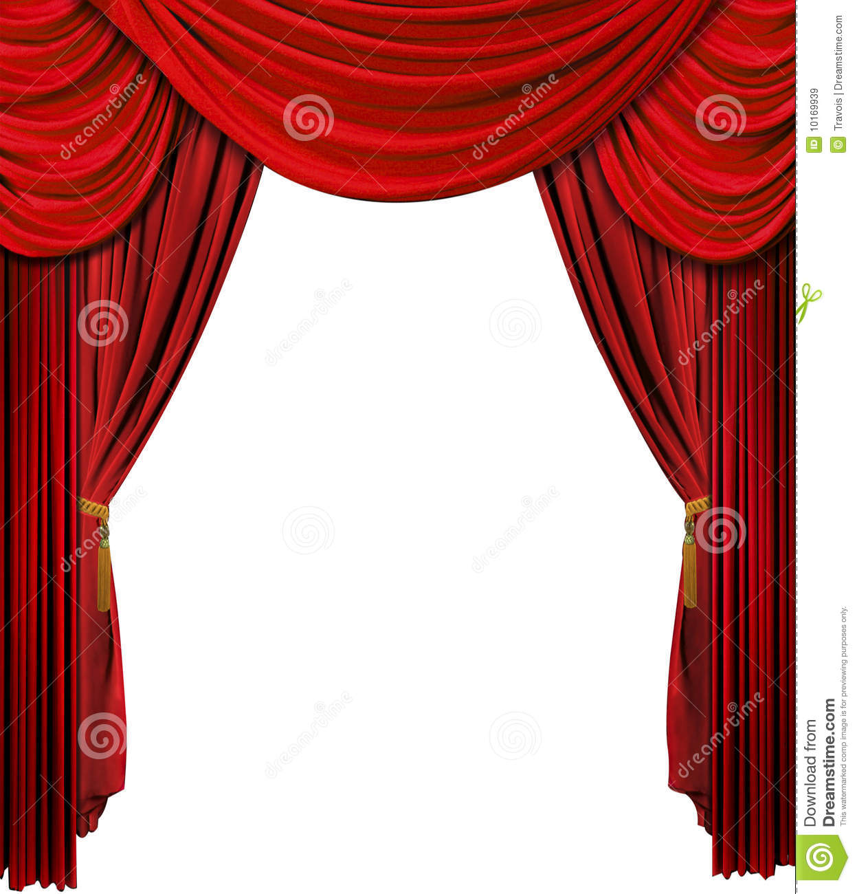 Red stage curtains - Red Stage Curtain With Lights Stage Curtain Royalty Free Stock Images Image 10169939