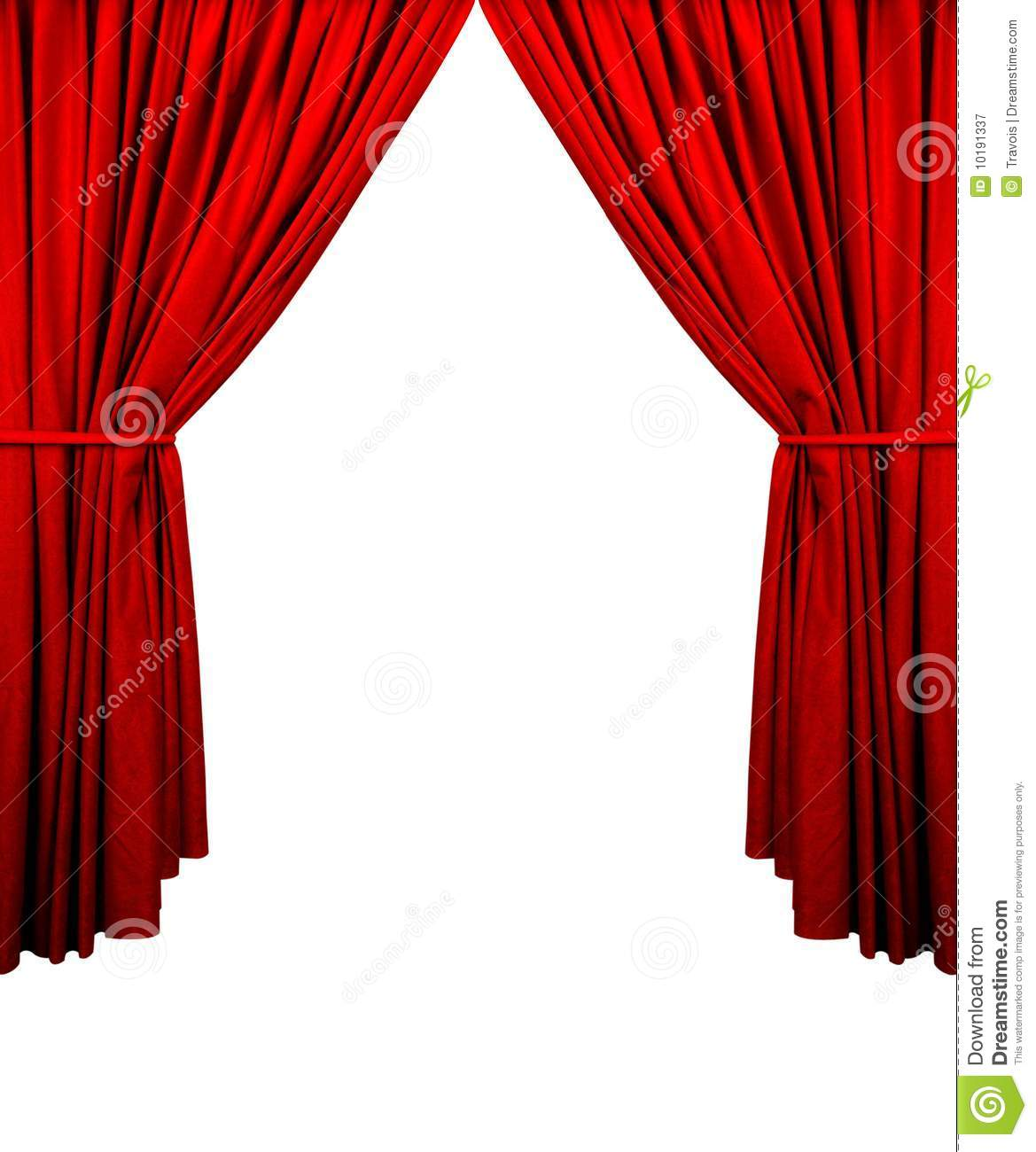 Stage Curtain Royalty Free Stock Photography Image 10191337