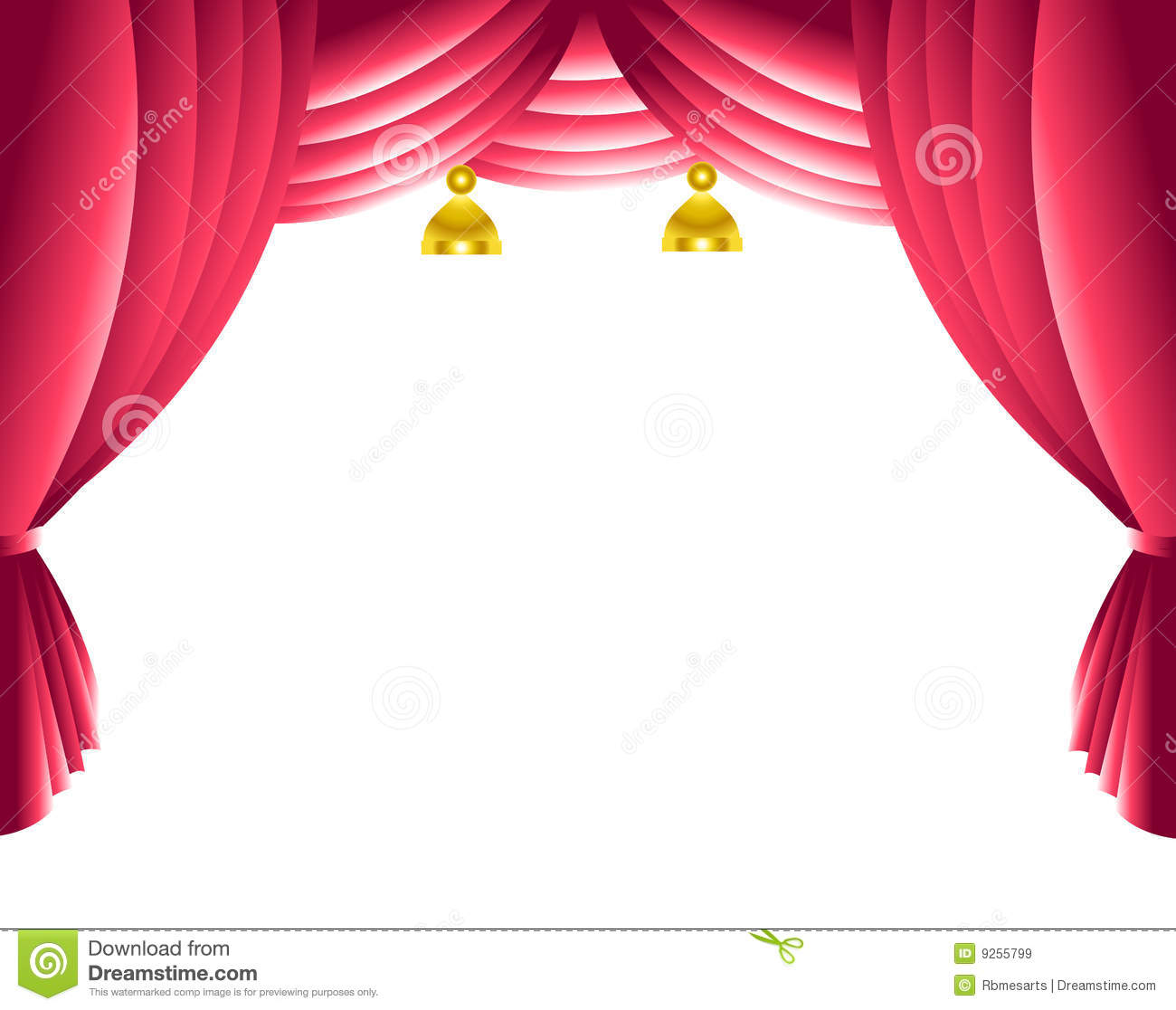 Blue stage curtains blue stage curtain vector free vector in - Stage Curtain Royalty Free Stock Images