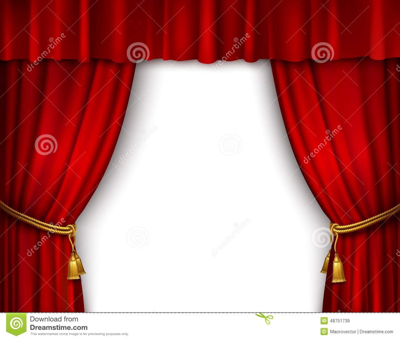 Open theater drapes or stage curtains royalty free stock image image - Royalty Free Vector Curtain Gold Illustration Isolated Open Red Stage Textile Theater