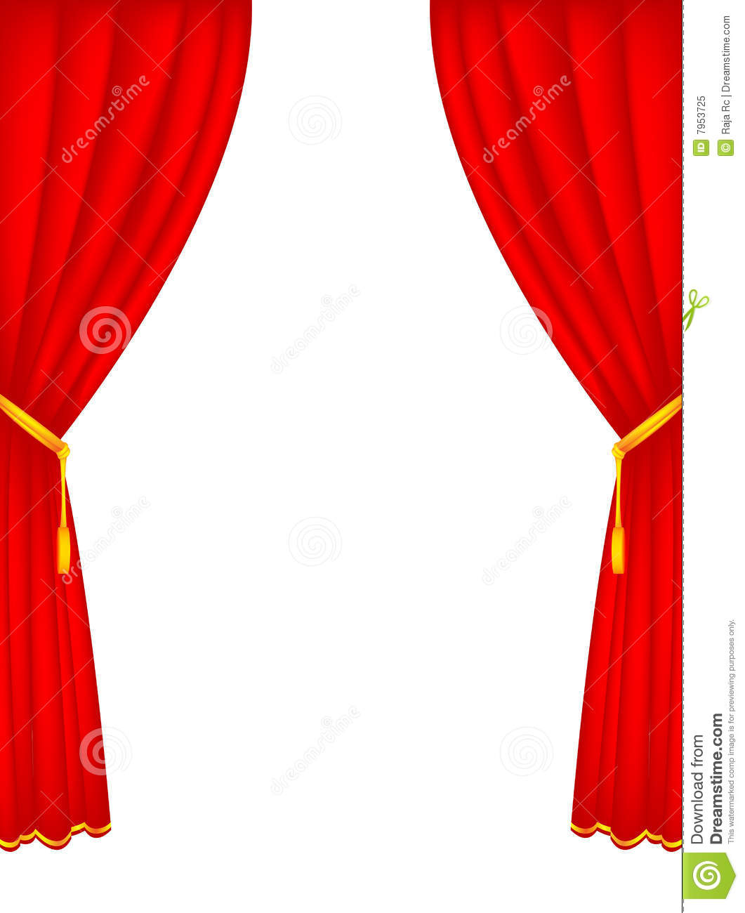 Velvet stage curtains - Stage Curtains Royalty Free Stock Photo Image 7953725