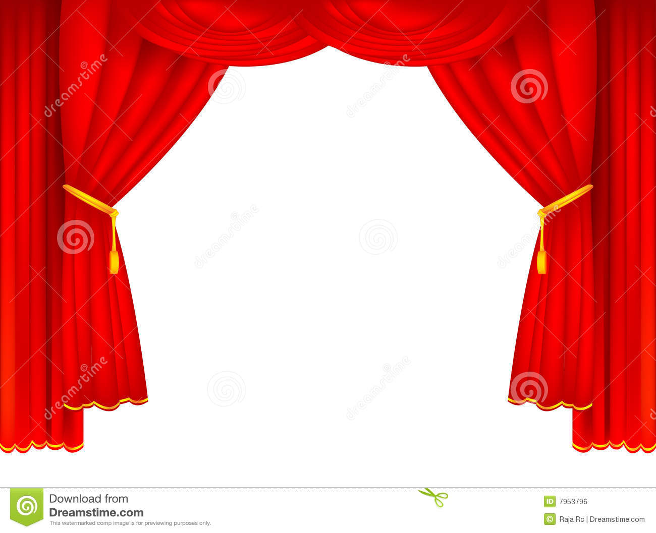 Free Clip Art Stage Curtains