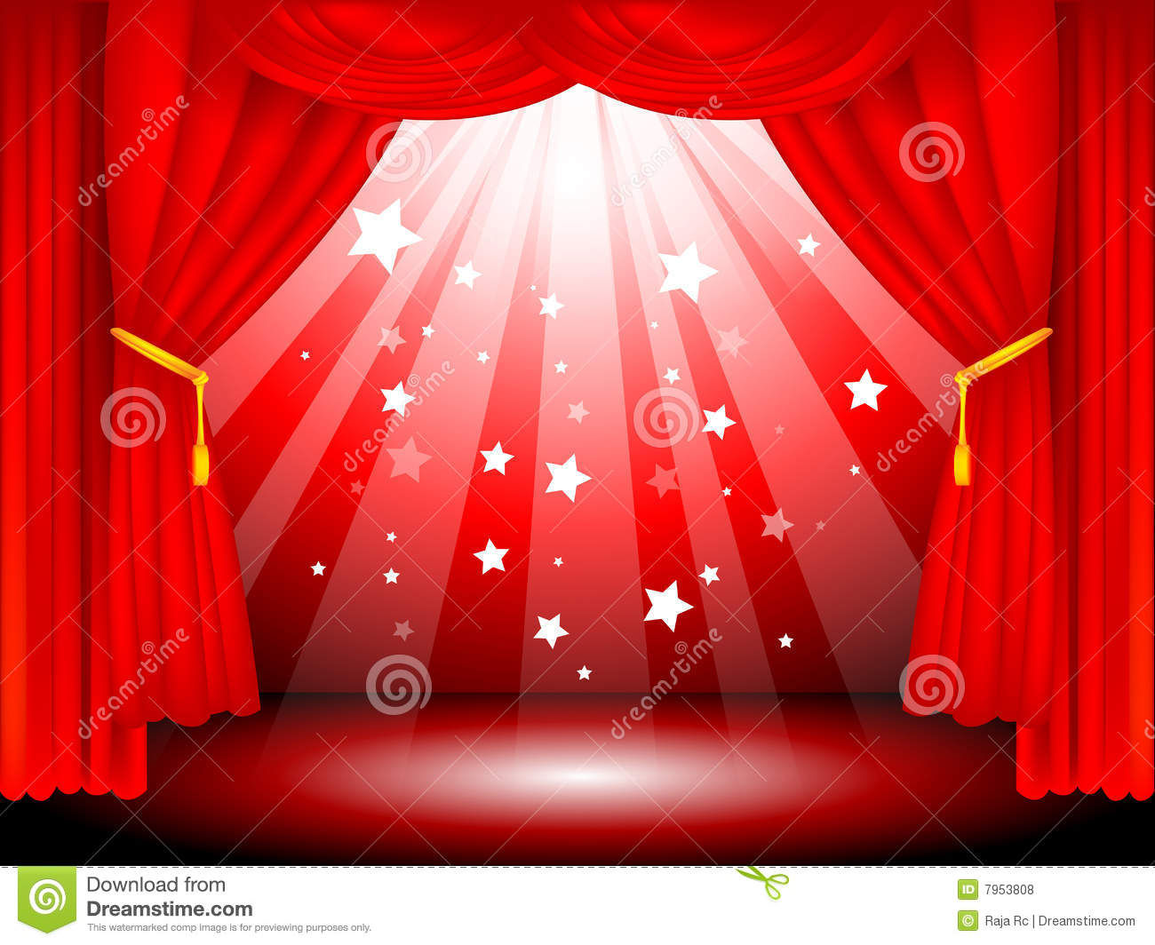 Blue stage curtains blue stage curtain vector free vector in - Background Black Curtains Red Stage Vector Velvet Curtain