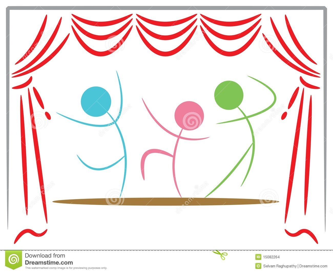 Dream Dance By Line Art Inc : Stage dance stock images image