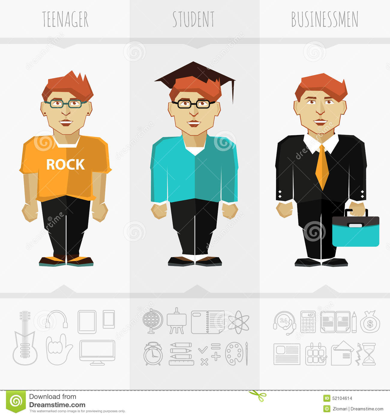 teen business man briefcase royalty stock photos image stage of education age and progress stock images