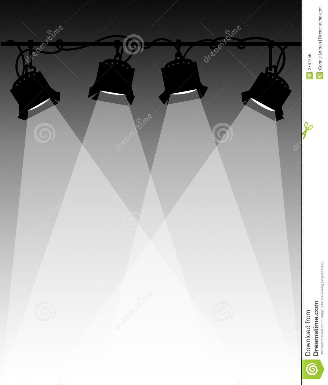 Stage Lights Clip Art Stage lighting/eps