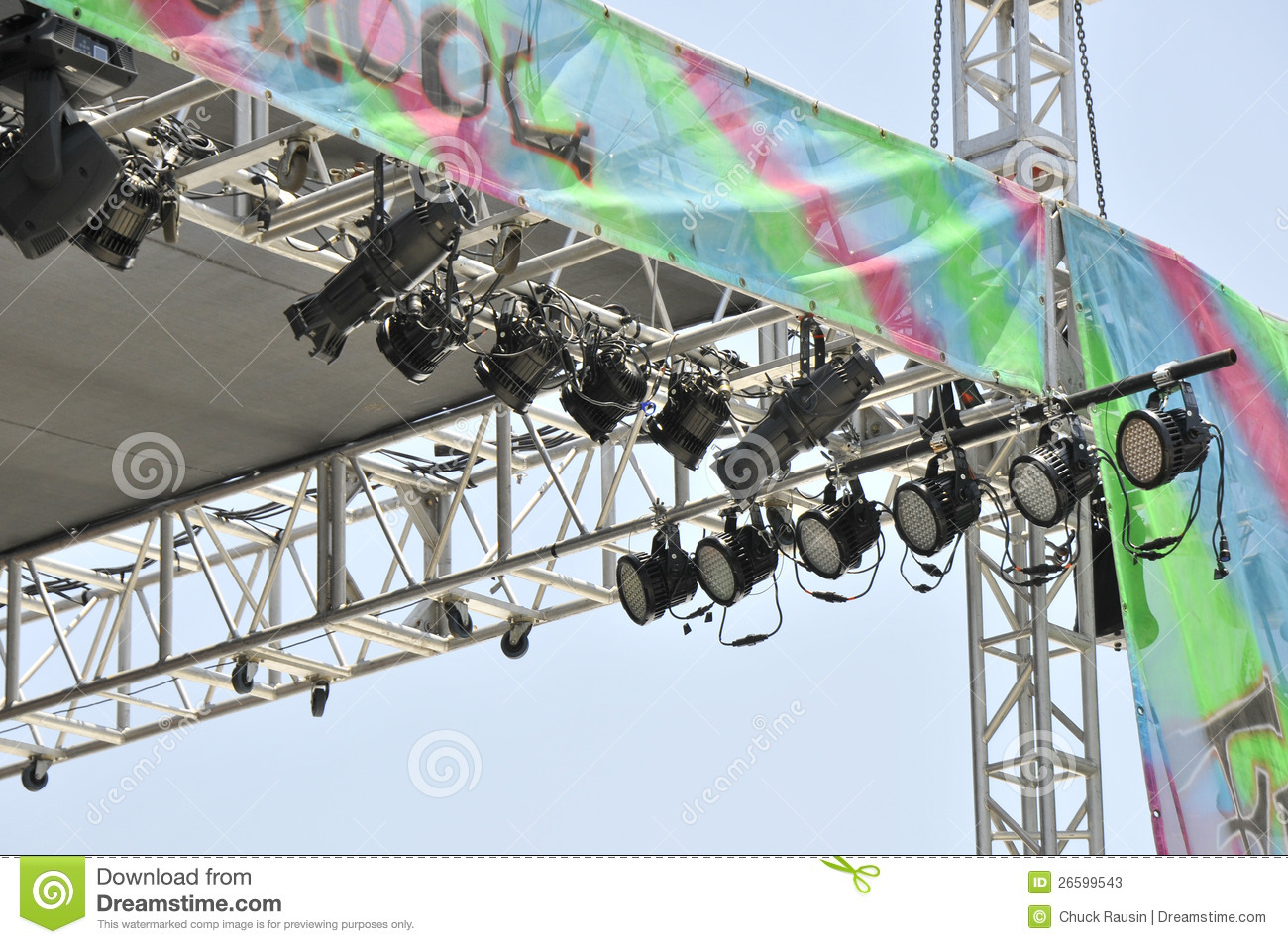 Stage Lighting Equipment Stock Photos - Image: 26599543