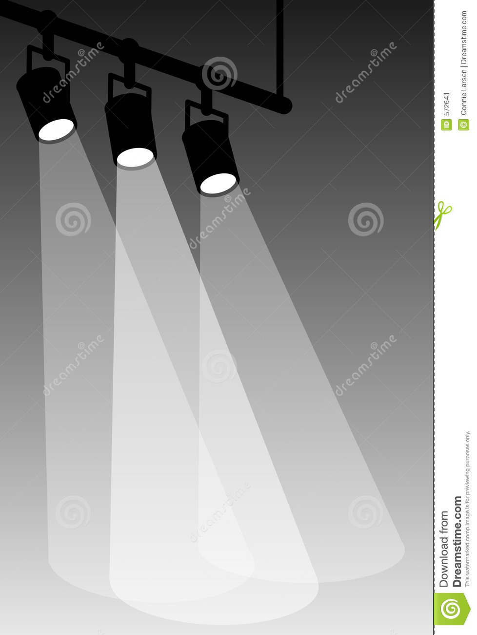 Stage Lights Clip Art Stage lights-white
