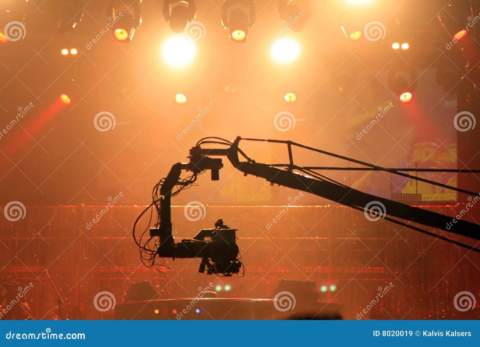 Stage video lights