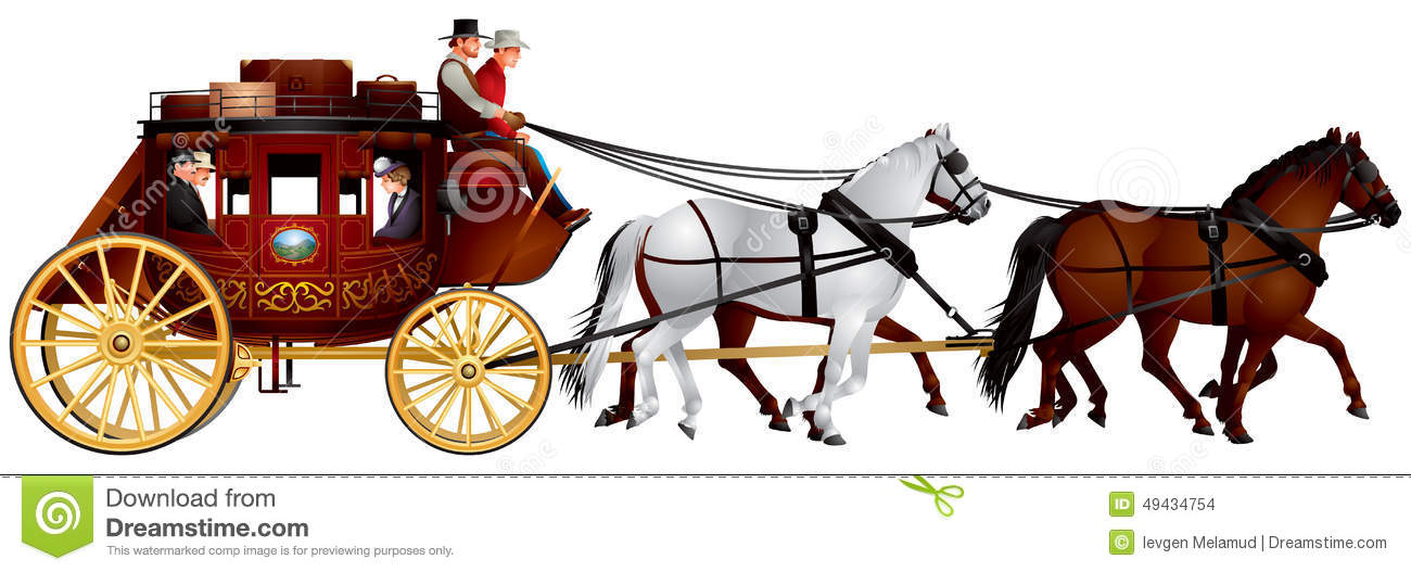 stagecoach stock illustrations 137 stagecoach stock illustrations rh dreamstime com wells fargo stagecoach clipart stagecoach clipart free