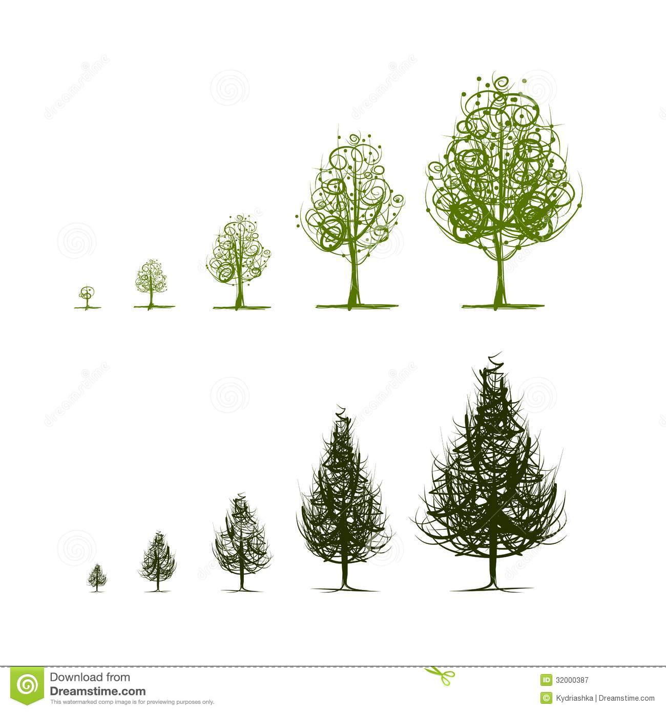 Stages Of Growing Tree For Your Design Royalty Free Stock Photography ...: www.dreamstime.com/royalty-free-stock-photography-stages-growing...