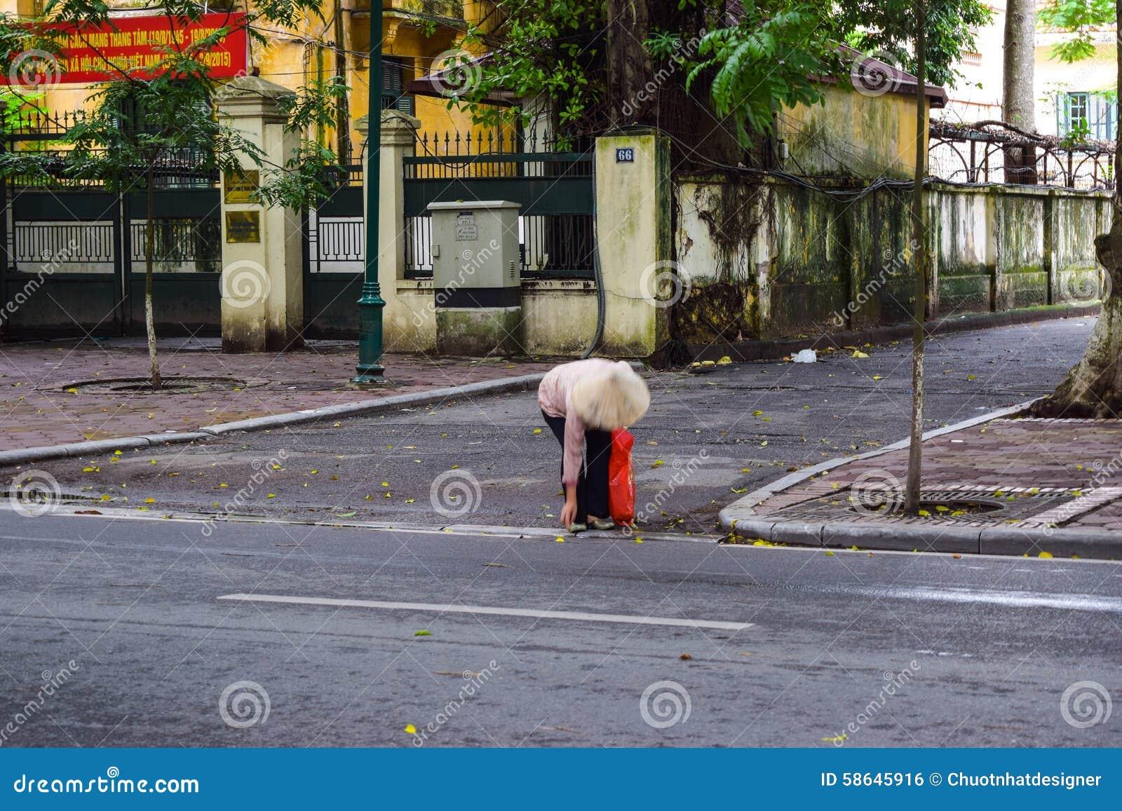 Stagione di caduta nell ha Noi, Vietnam