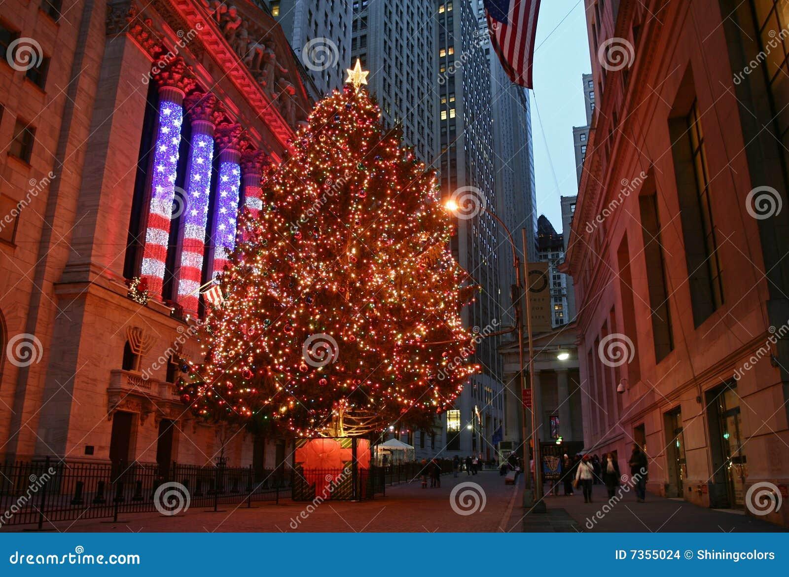 Stagione di natale a new york immagine stock editoriale for Immagini new york a natale