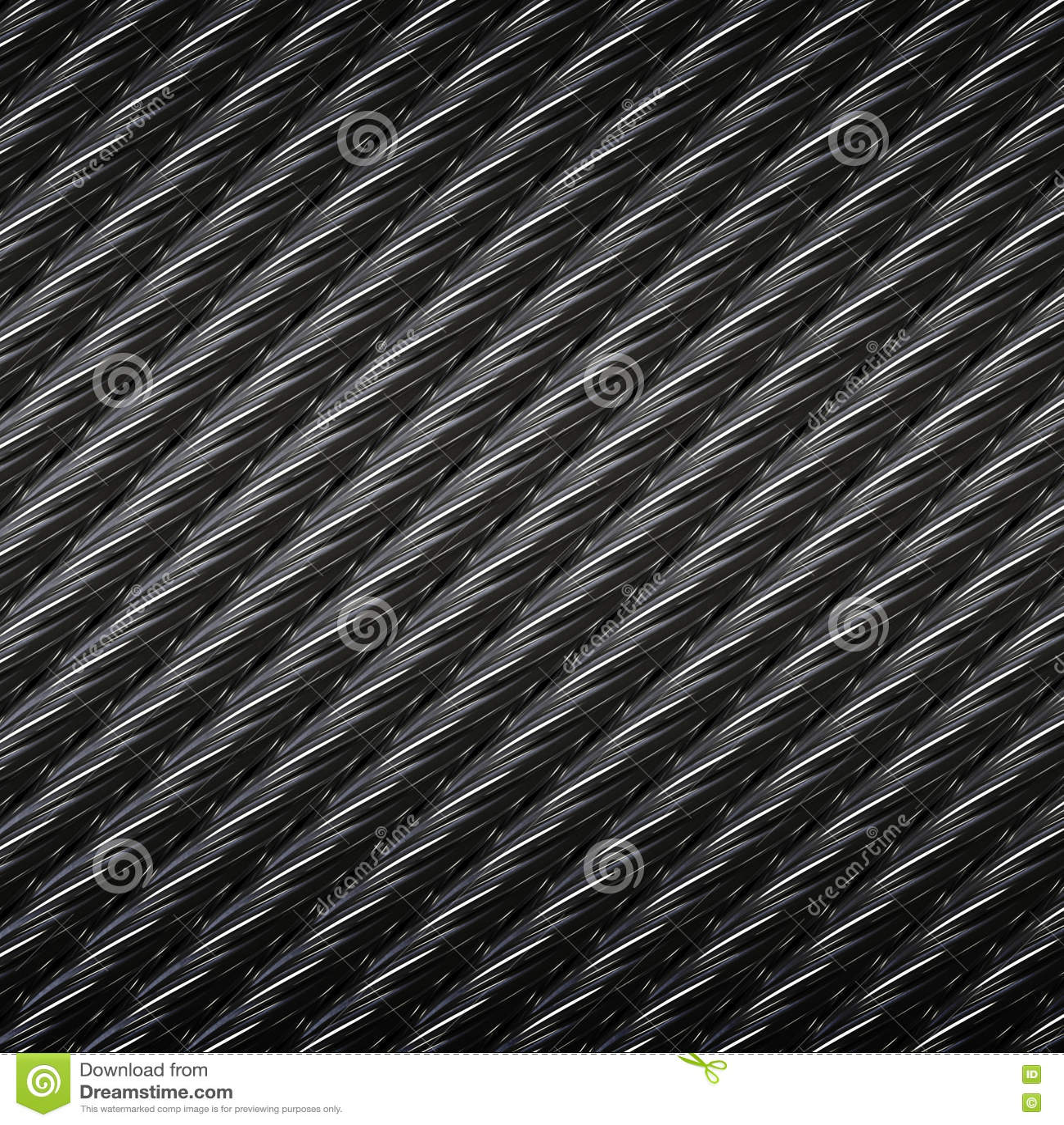 Stahldrahtseil-Kabelhintergrund Stockfoto - Bild von industrie ...