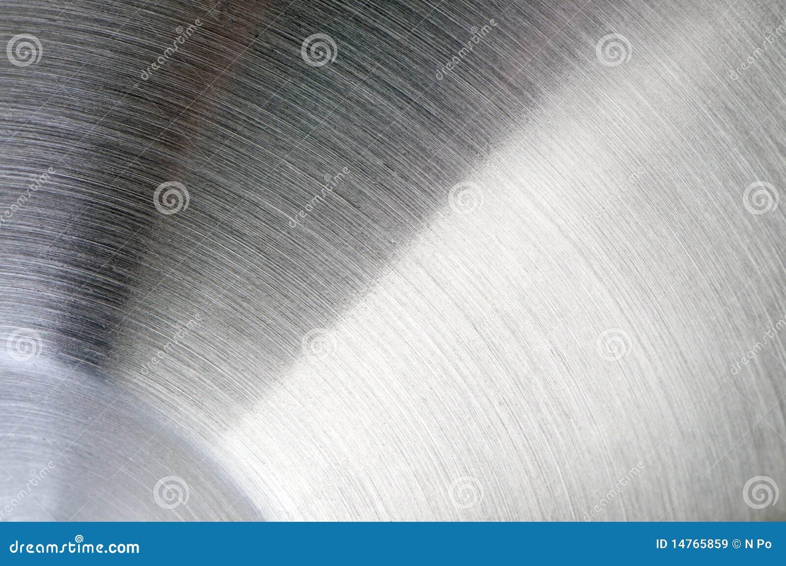 Stahloberflächennahaufnahme Stockbild - Bild von stahl, glänzen ...