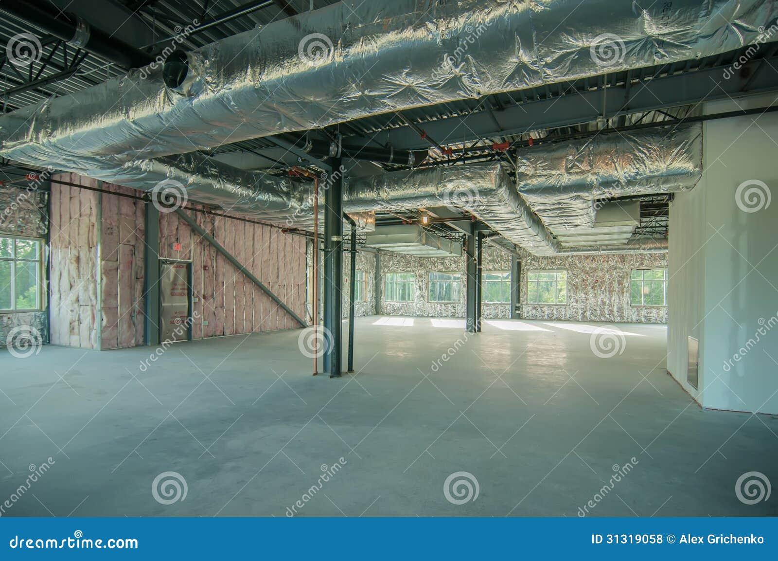 Stahlskelettbauprojekt Unfertig Stockfoto - Bild von aufbau ...