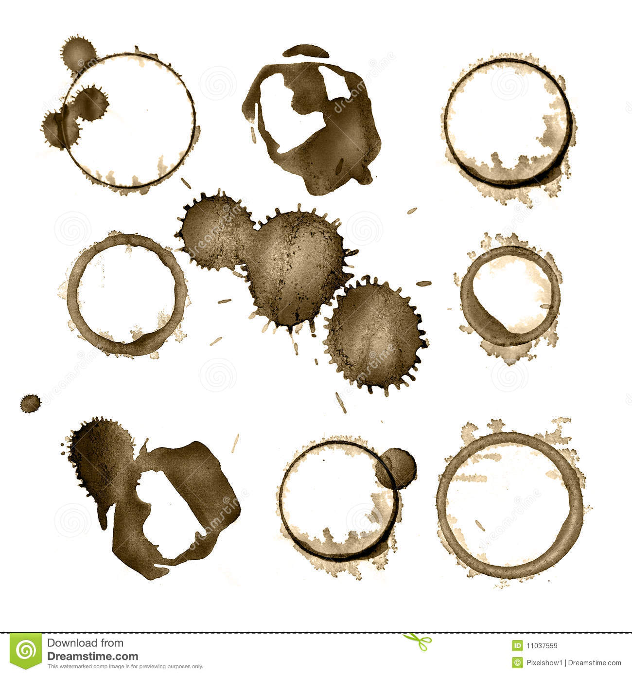 Stain Royalty Free Stock Images Image 11037559