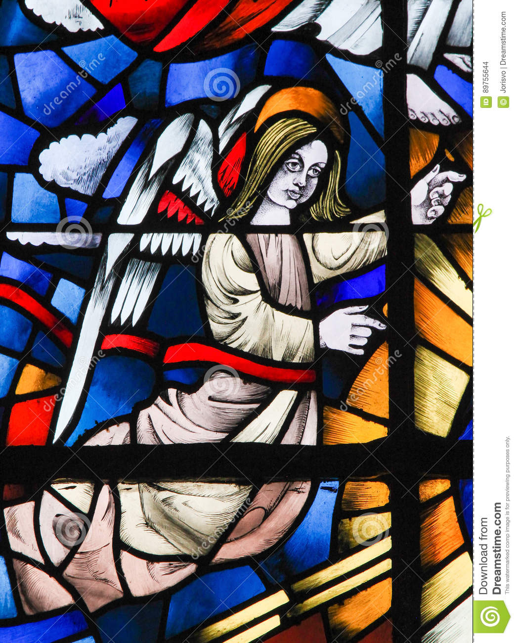 Stained Glass - Angel