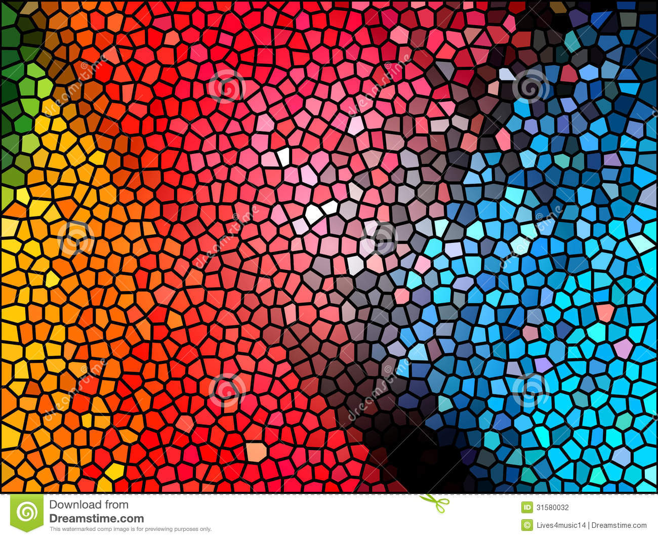Stained Glass Background Stock Photography - Image: 31580032