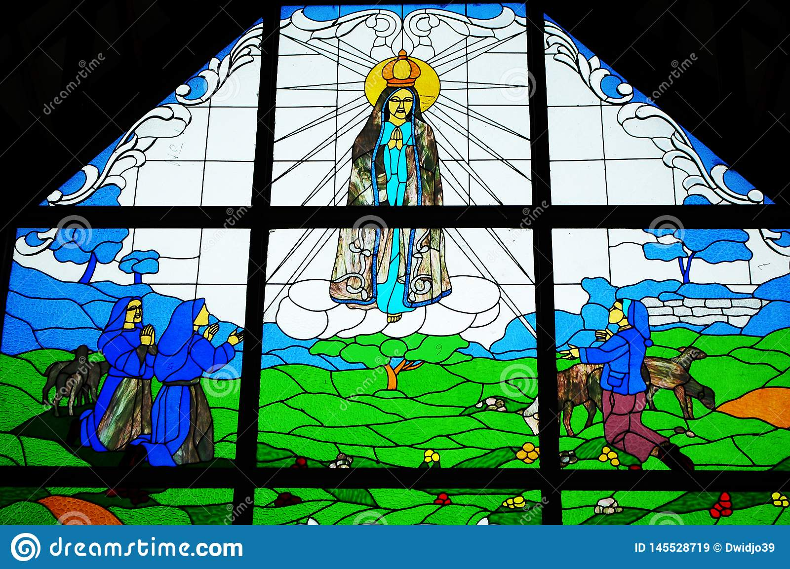 Stained Glass of Jesus