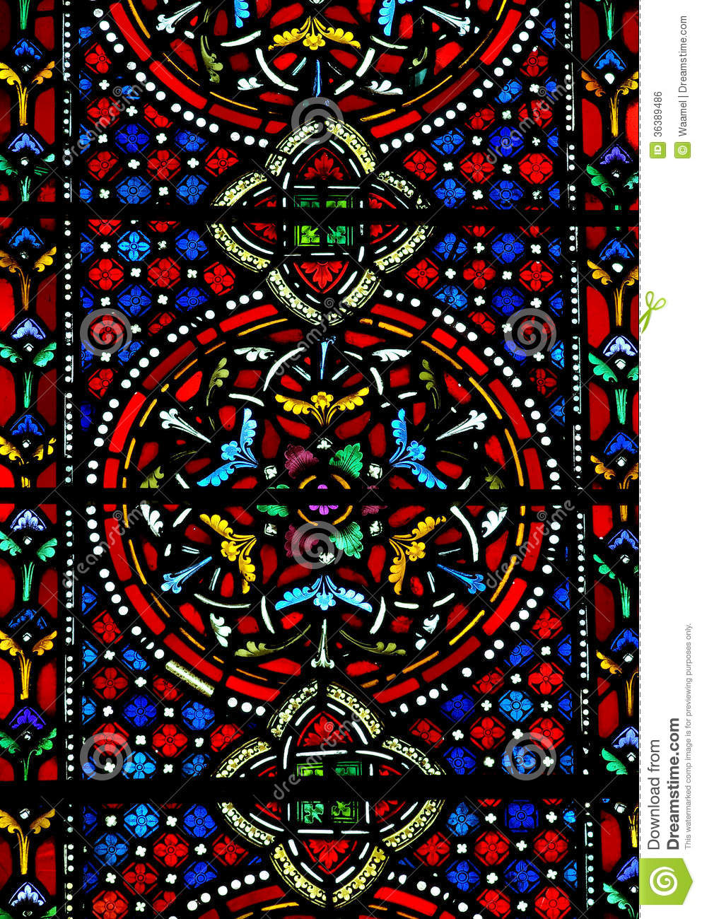 Stained Glass Window Patterns : Stained glass pattern stock photo image of