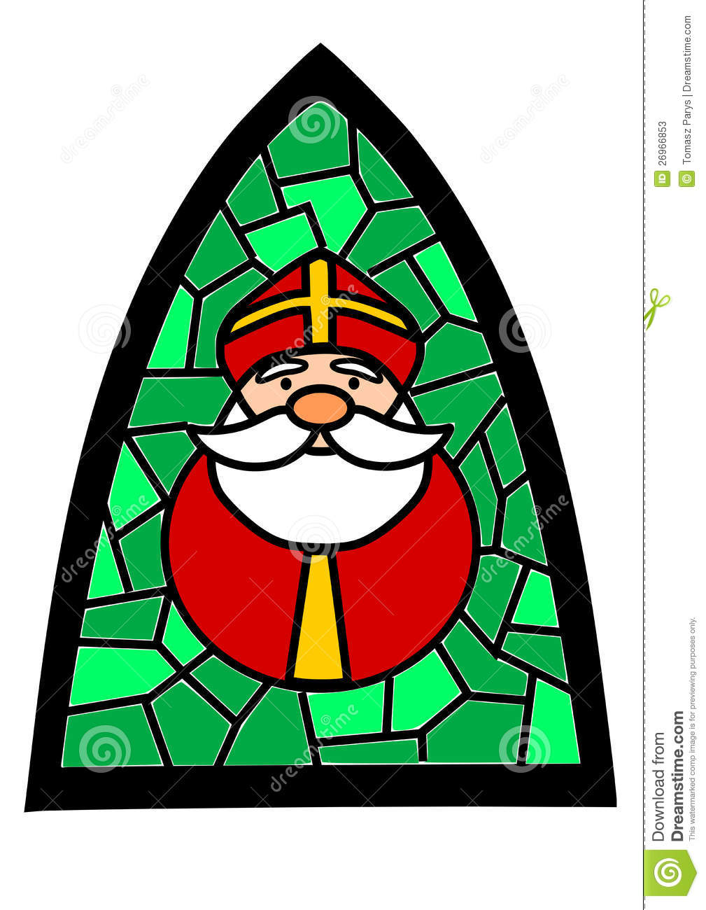 Cartoon Santa Claus Face Outline Wiring Diagrams Hainan Mazda Parking Sensor Circuit Automotivecircuit Stained Glass With Stock Photos Image 26966853 Printable Pattern