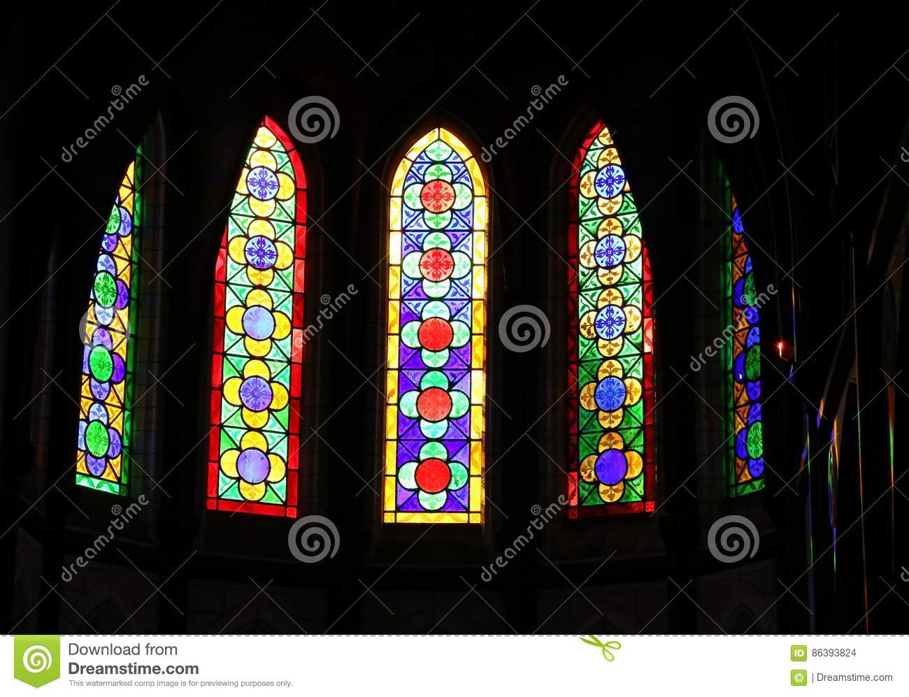 Stained Glass Window Patterns Magnificent Decorating