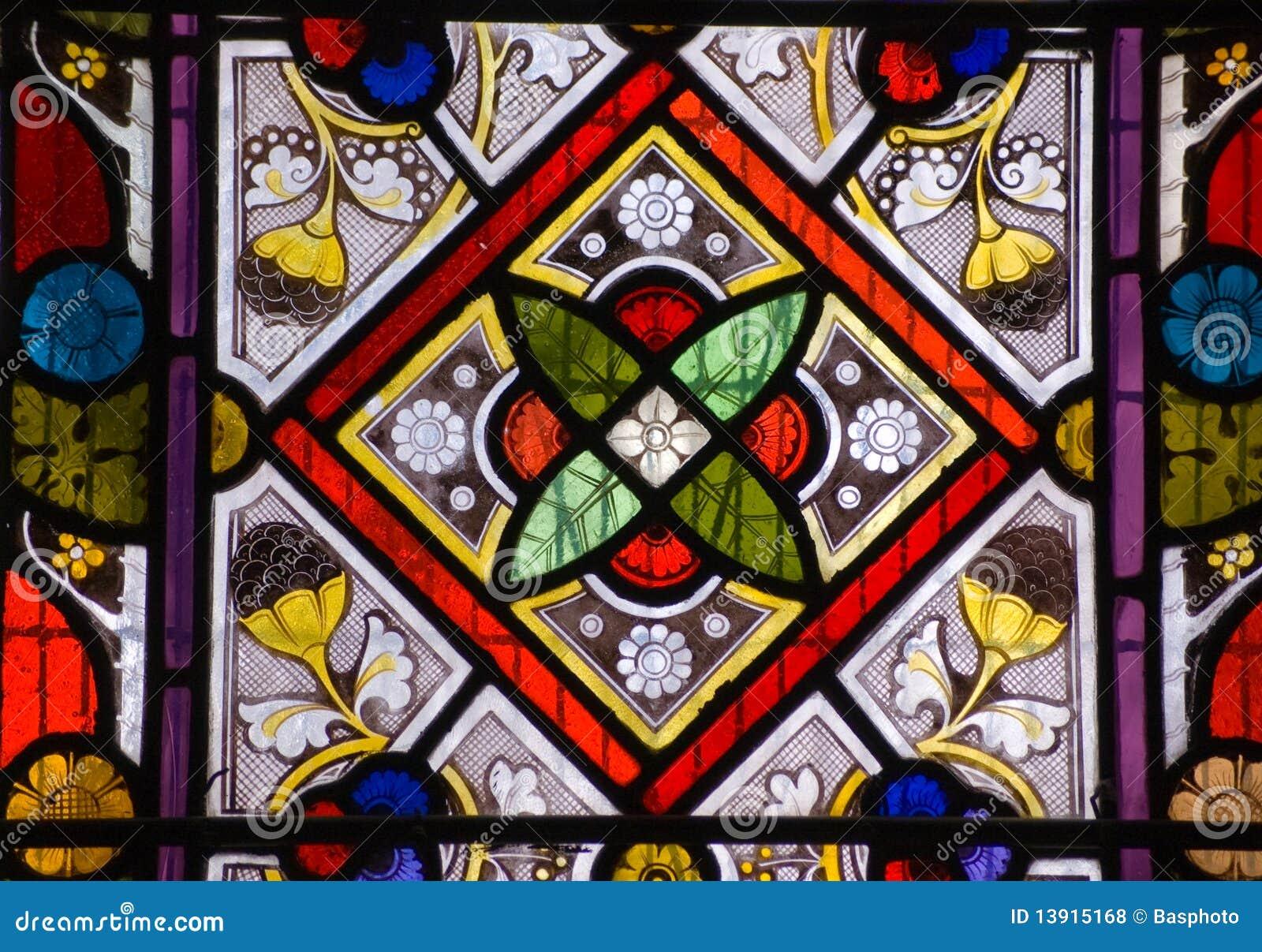 Church Glass Pattern