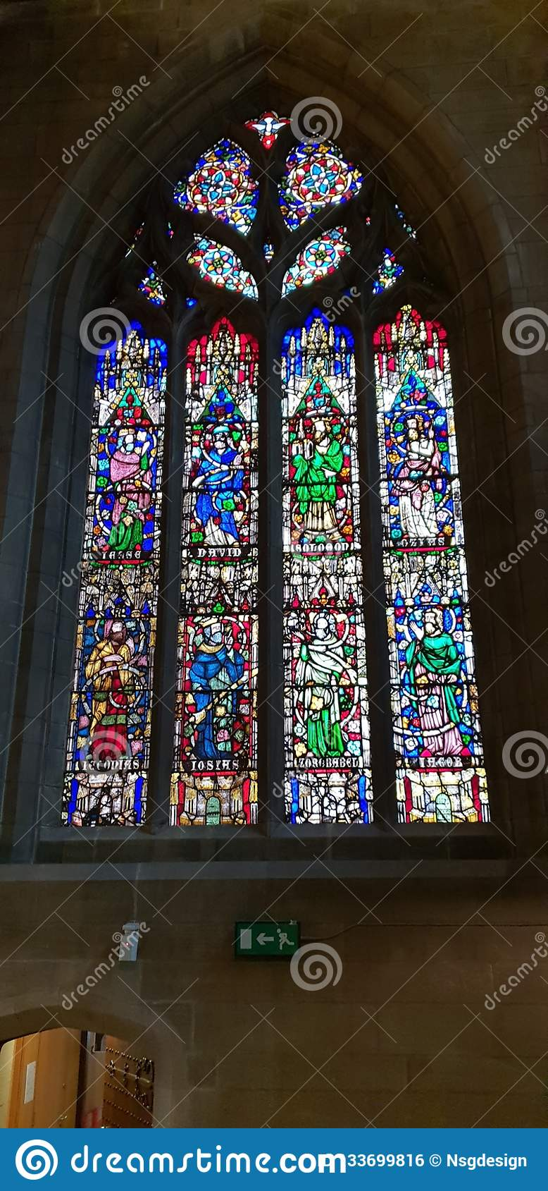 Large Stained Glass Window.Stained Glass Window Stock Photo Image Of Large Stained
