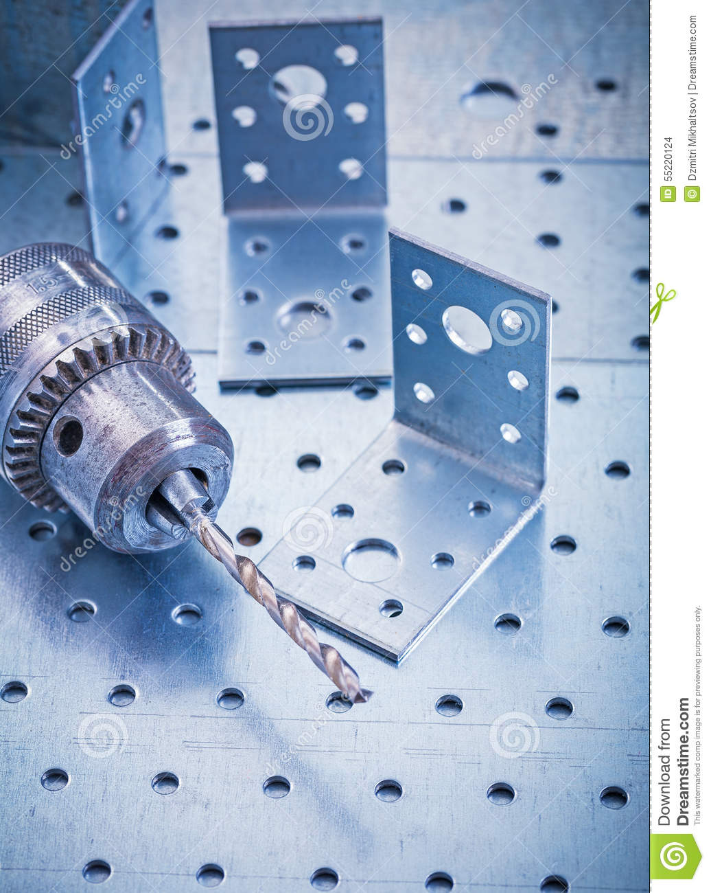 Perforated fasteners 58