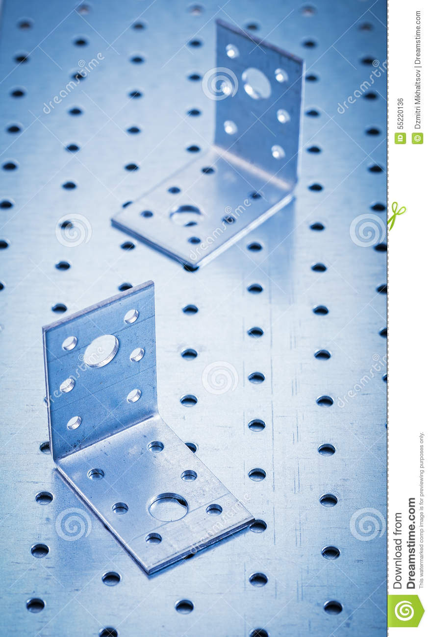 Perforated fasteners 25