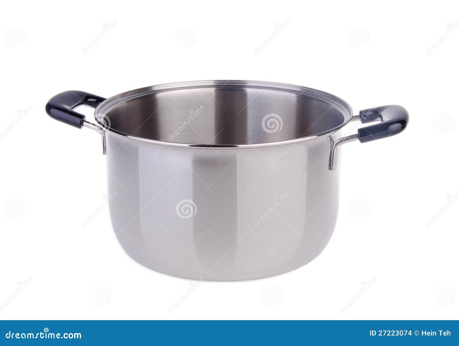 stainless steel cooking pot stock images image 27223074. Black Bedroom Furniture Sets. Home Design Ideas