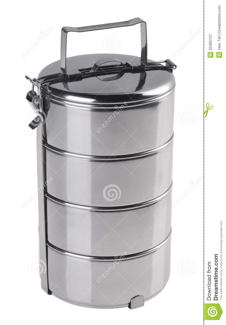 Stainless Steel Food Container Royalty Free Stock ...