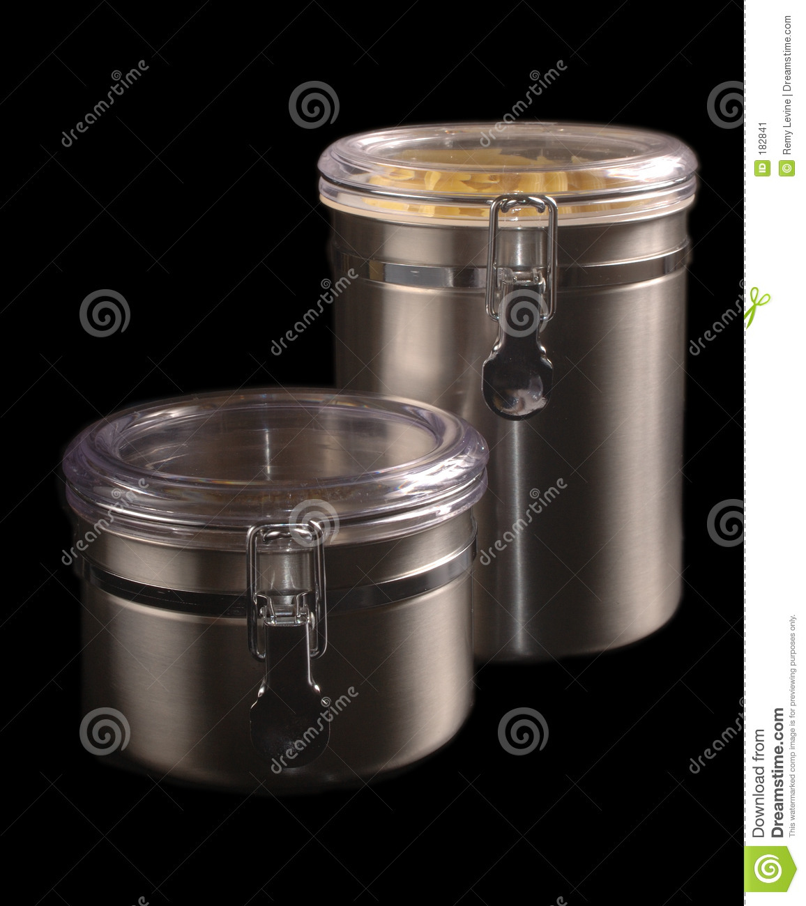 stainless steel storage containers for kitchen stainless steel kitchen containers stock image image of 9420