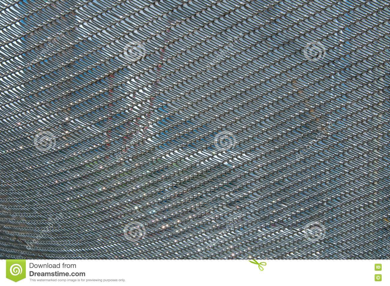 Stainless Steel Net Stock Image Image Of Abstract