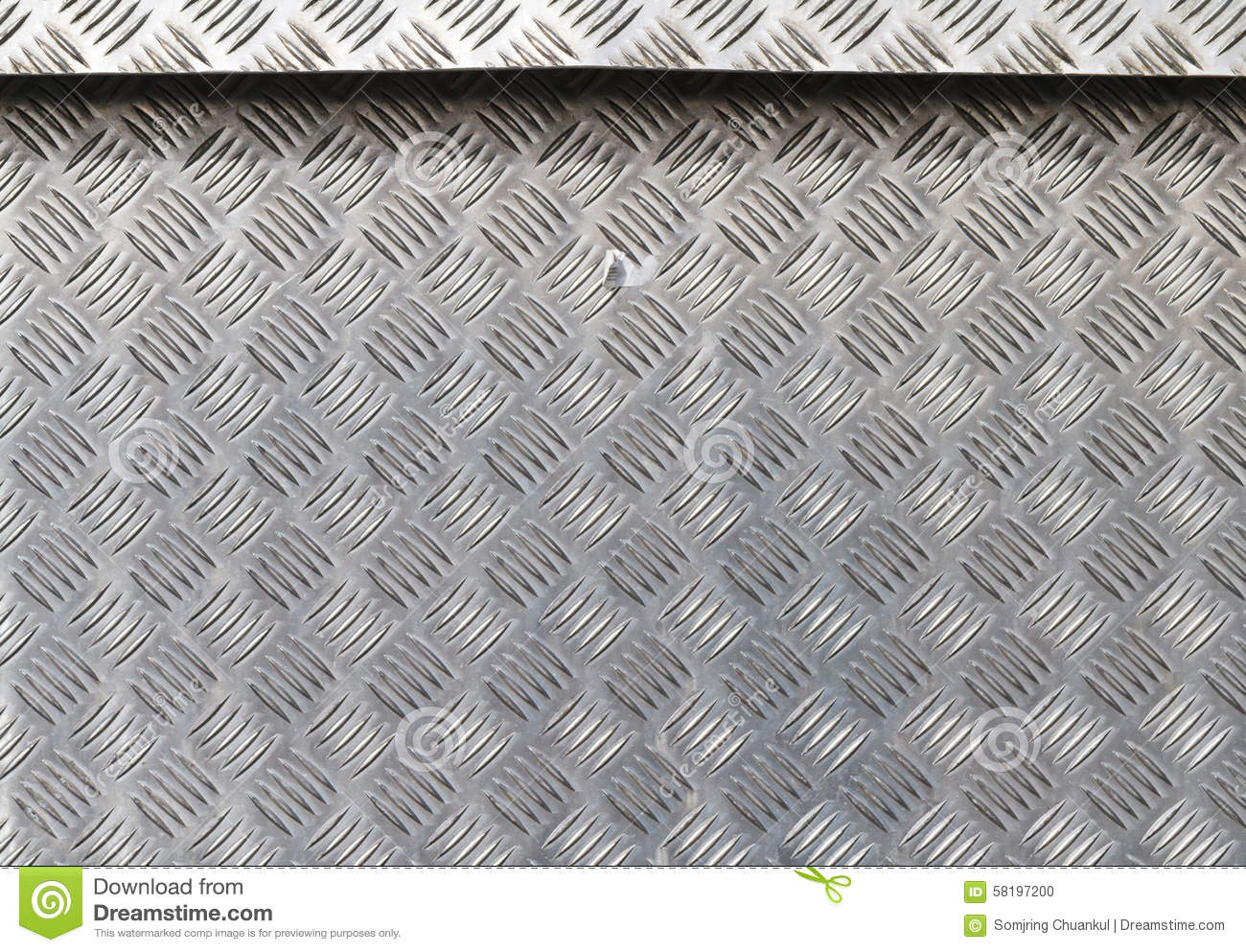 Stainless Steel With Non Slip Pattern Stock Photo Image