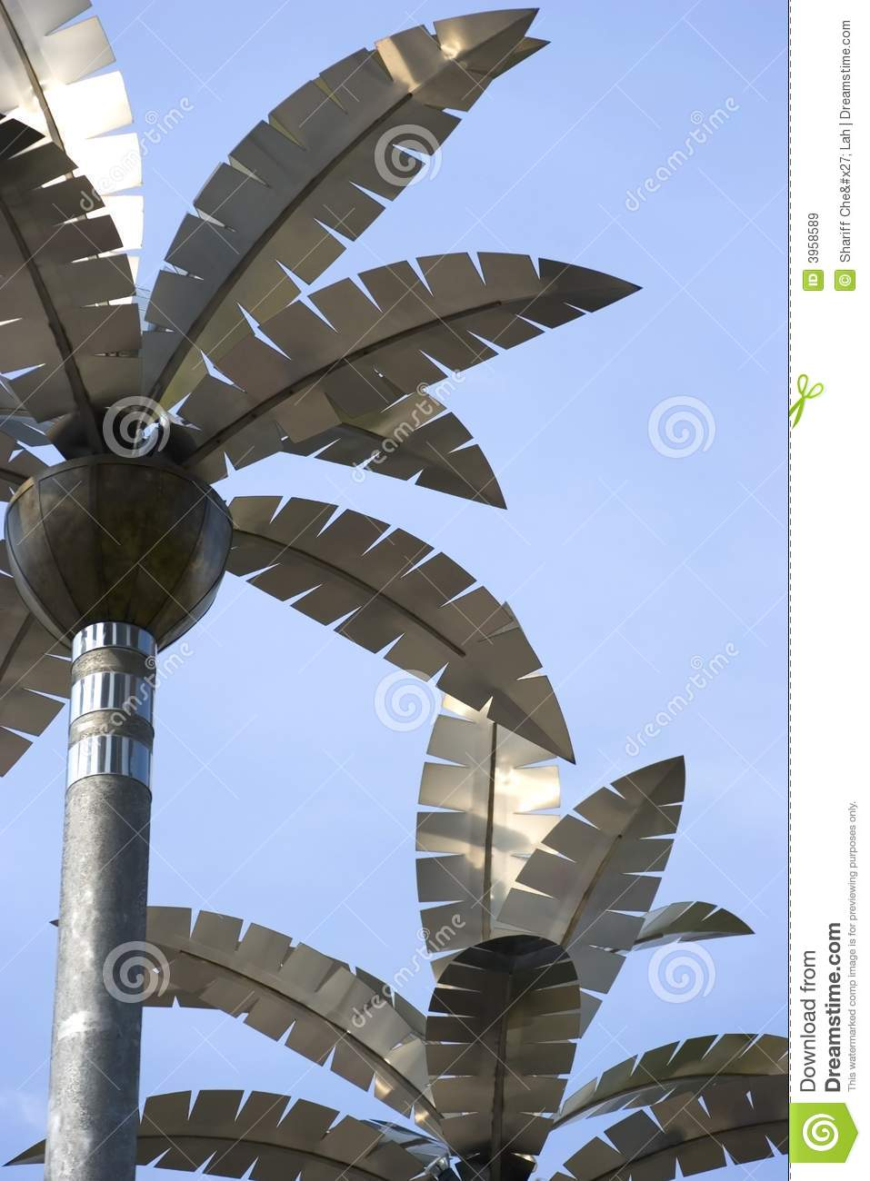 Stainless Steel Palm Trees Royalty Free Stock Images ...