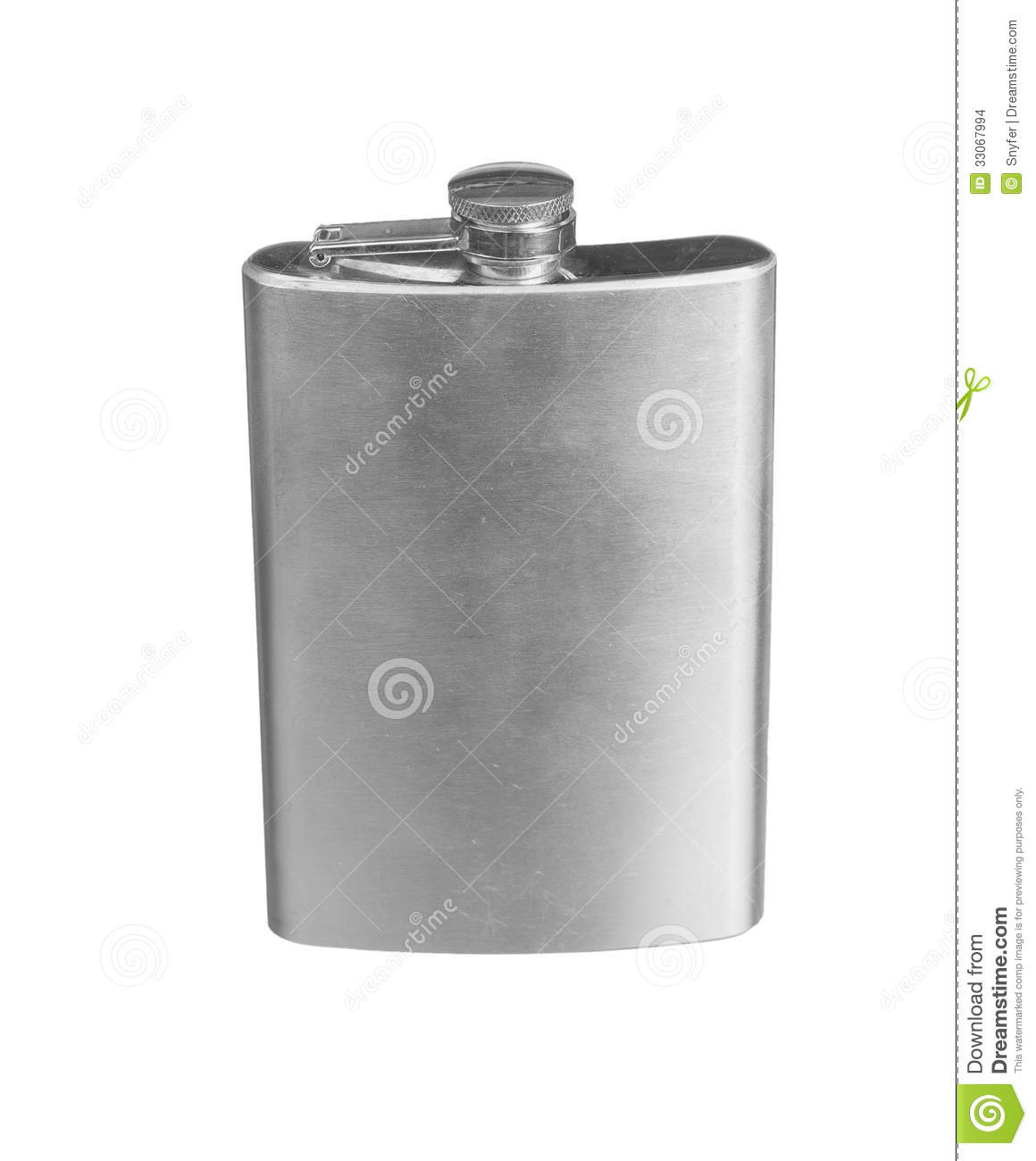 how to clean a hip flask