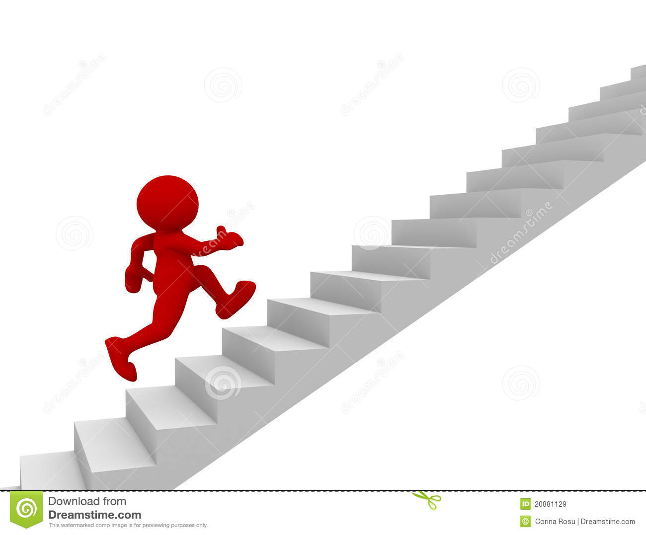 Stair stock illustration illustration of abstract human for Sedia elettrica che sale le scale