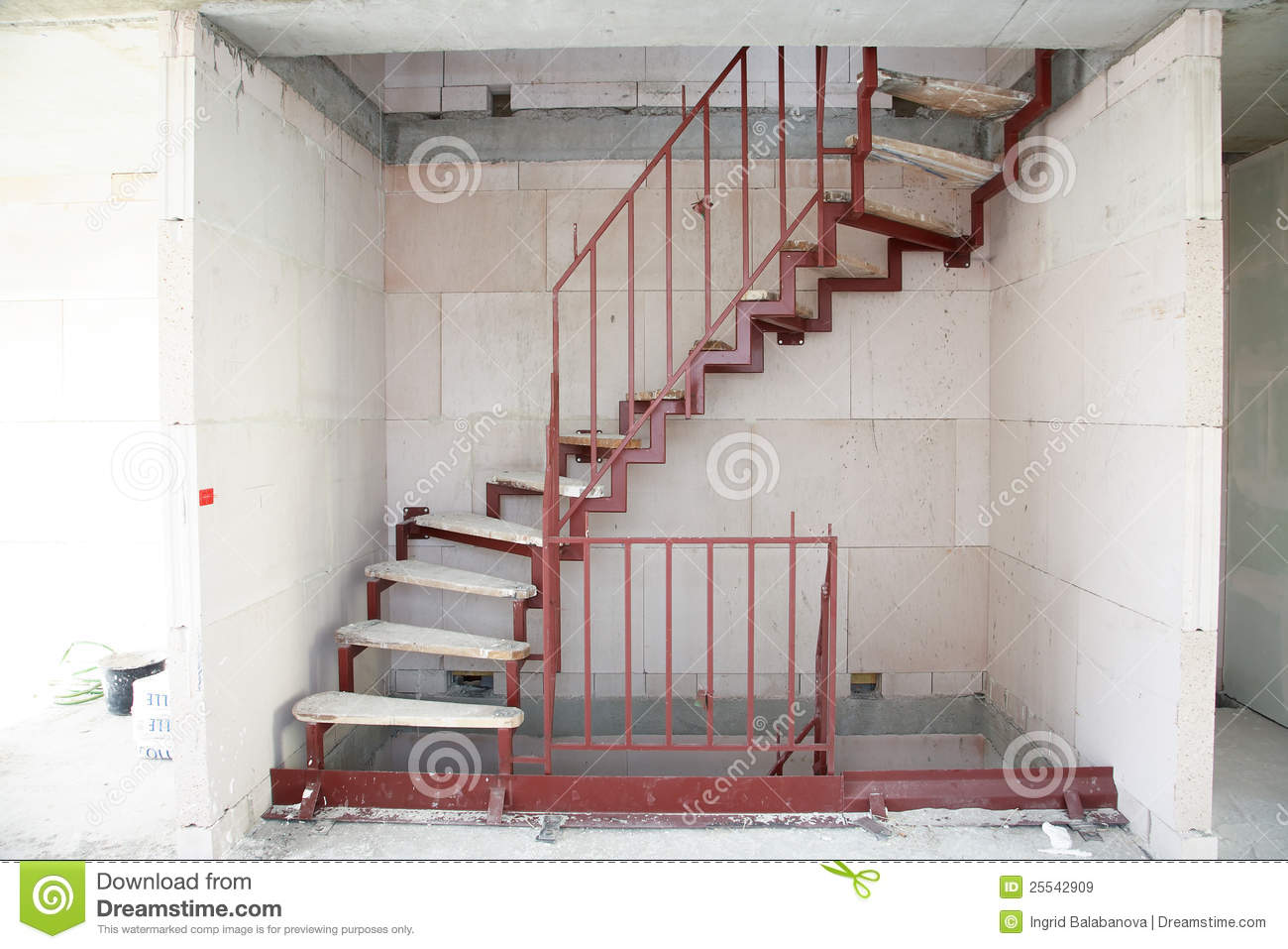 Stair Construction Royalty Free Stock Images - Image: 25542909