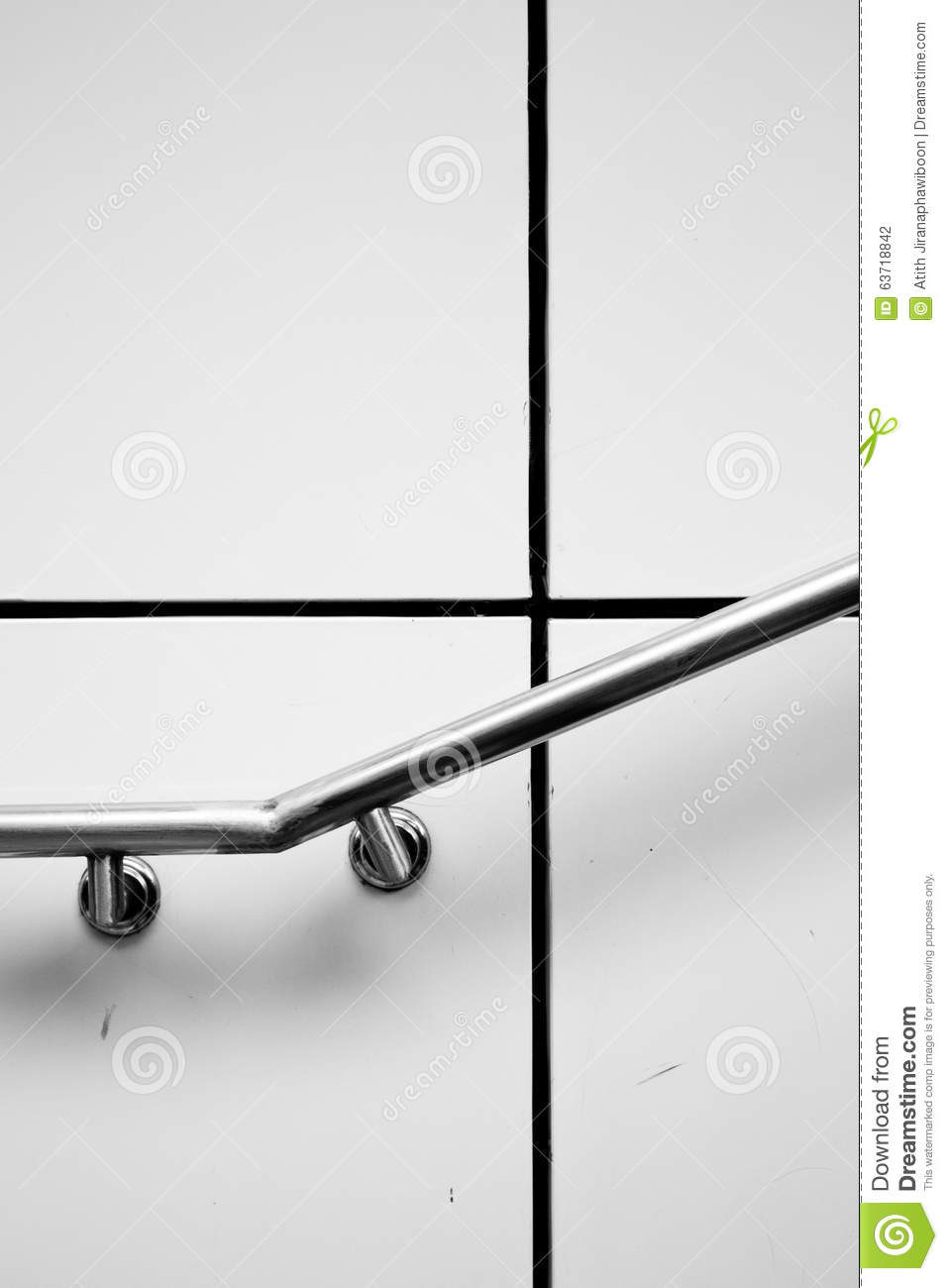 Royalty Free Stock Photo. Download Stair And Holder ...
