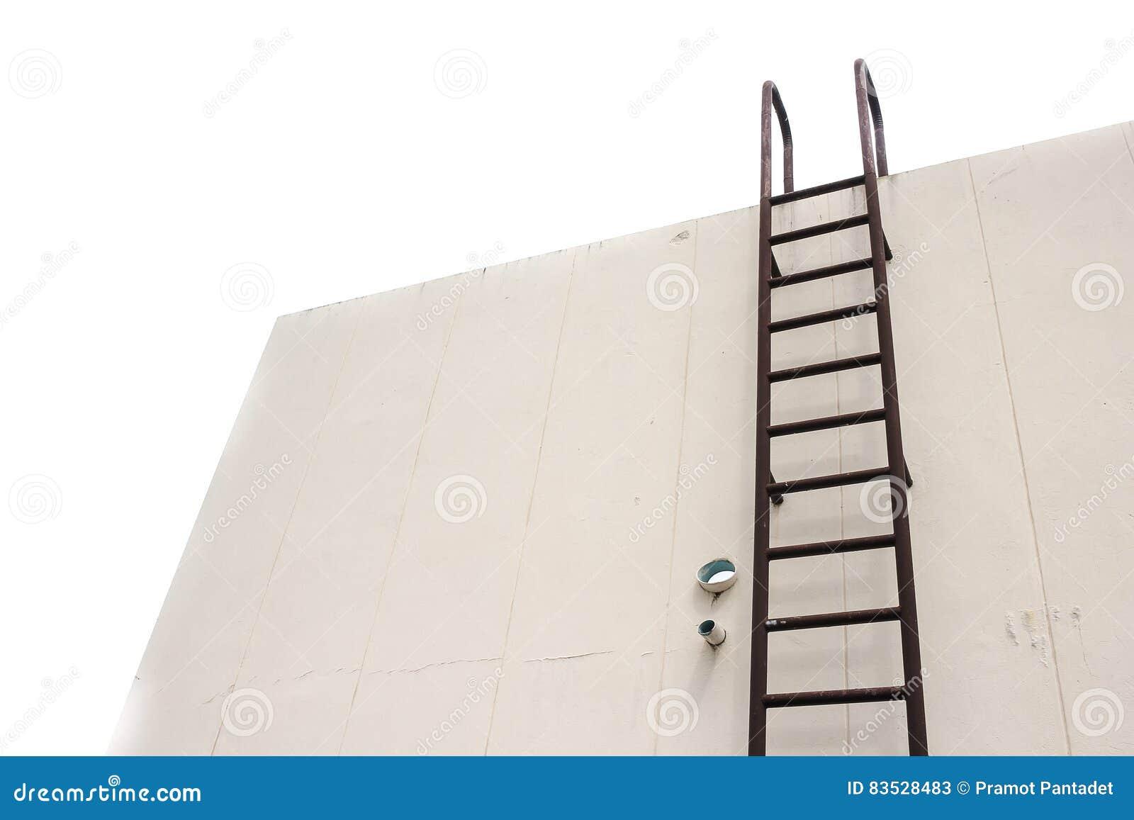Stair Metal Old Vertical Industrial Rust   Stock Image