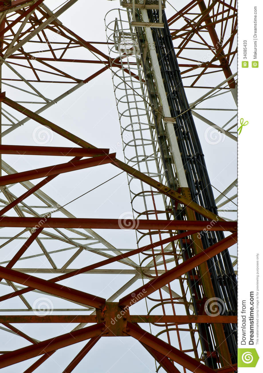 Stair Tower Stock Photos Image 34085433