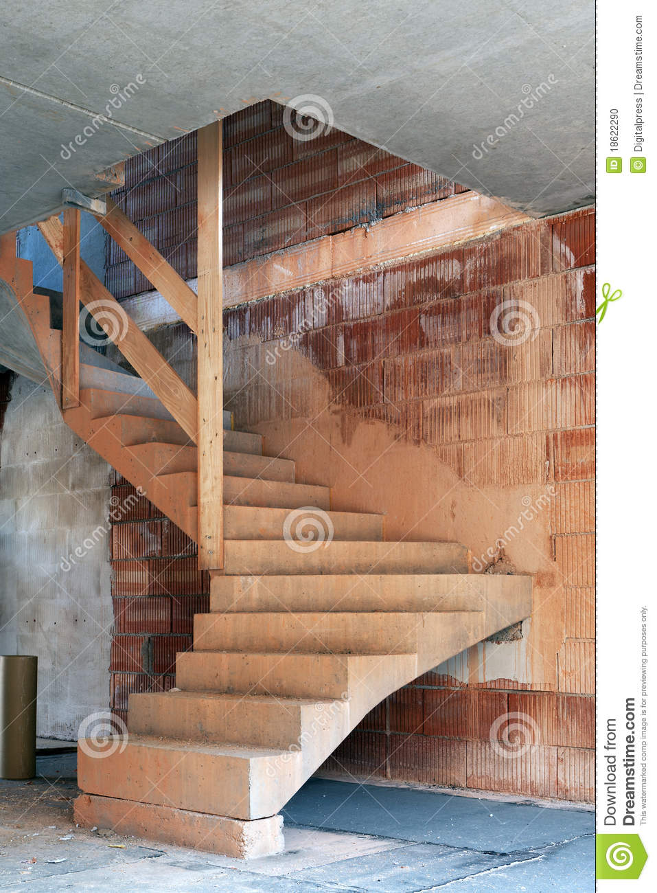 Royalty Free Stock Photo. Download Staircase Construction ...