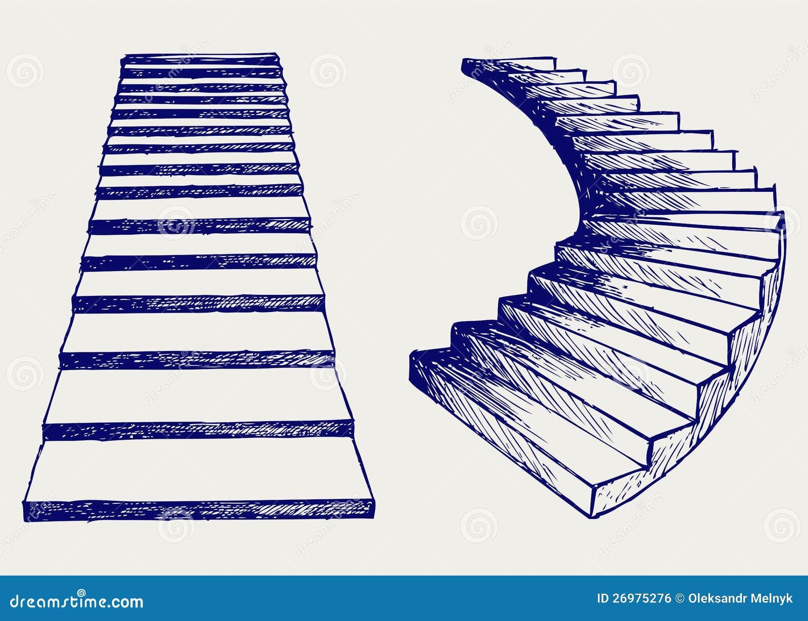 Stairway Sketch