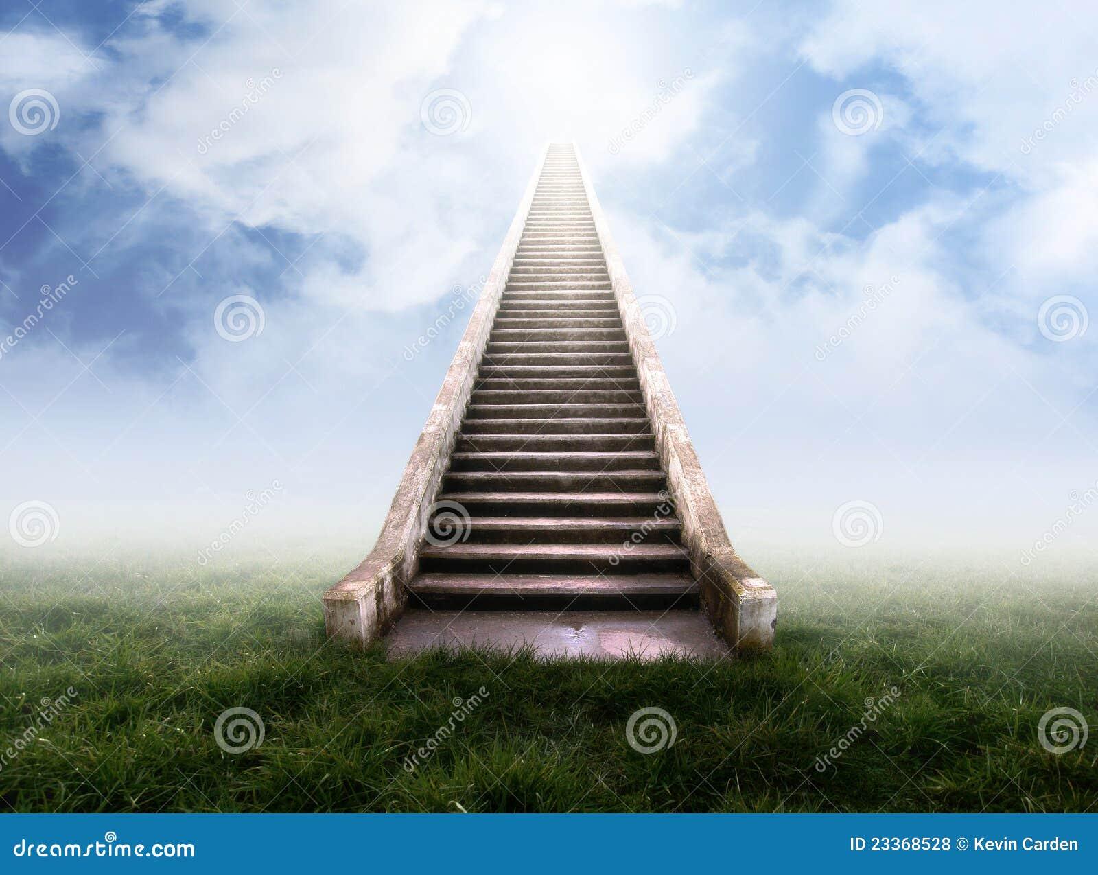 Staircase to heaven royalty free stock photos image - Fotos de escaleras ...