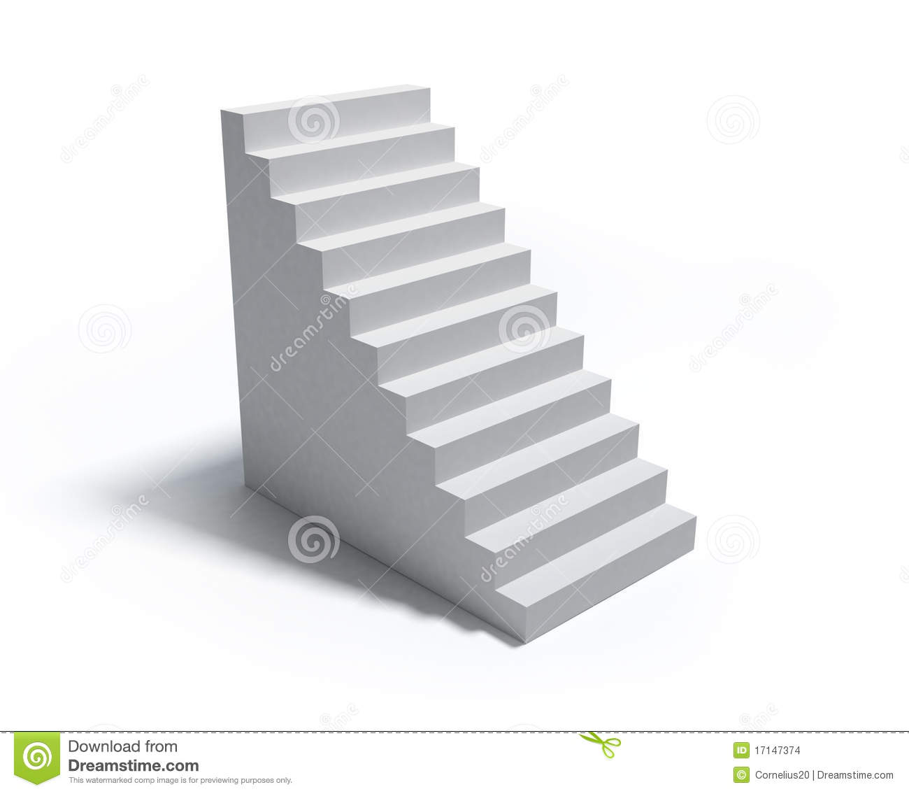 Stairs. Royalty Free Stock Photo