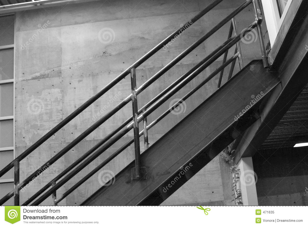Download Stairs stock image. Image of wall, gray, interior, black - 471635