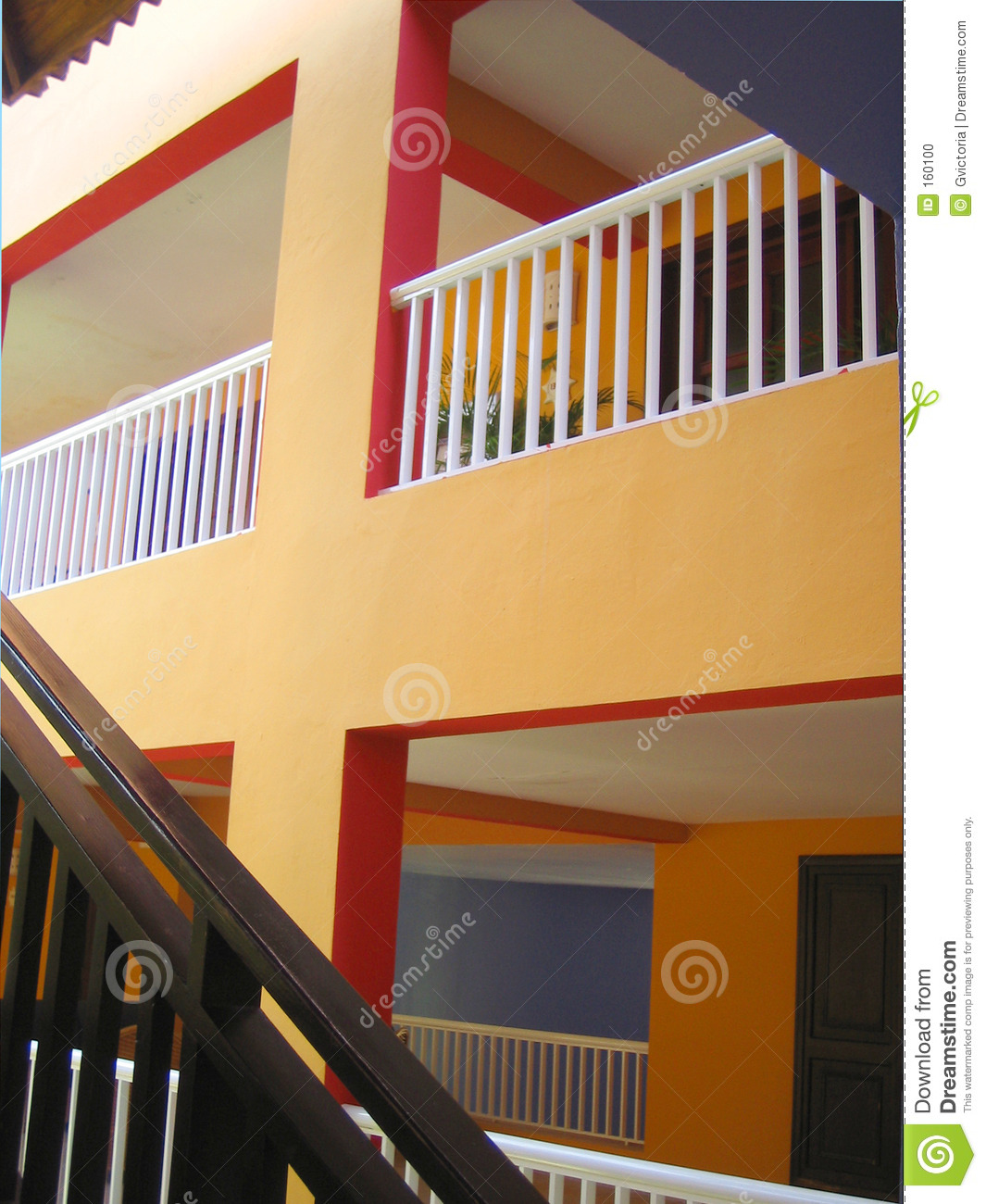 Stairs and balconies